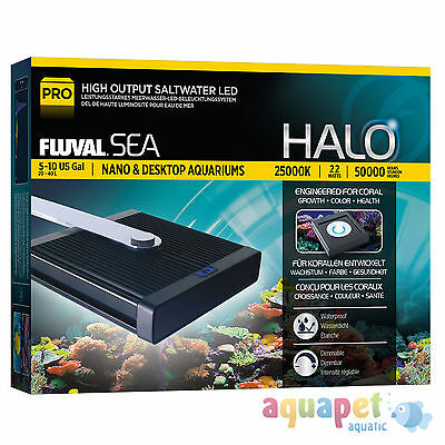 Fluval Sea Halo High Output Nano LED Lamp - 22 W - 14 cm x 15.5 cm