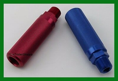 Gladhand Aluminum Extension Handles Velvac Air Brake Blue & Red Emergency 035178
