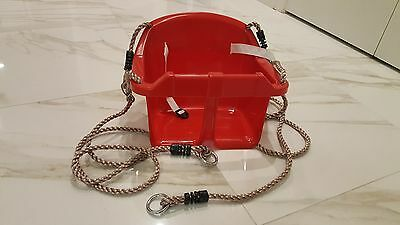 Infant to Toddler Swing Red
