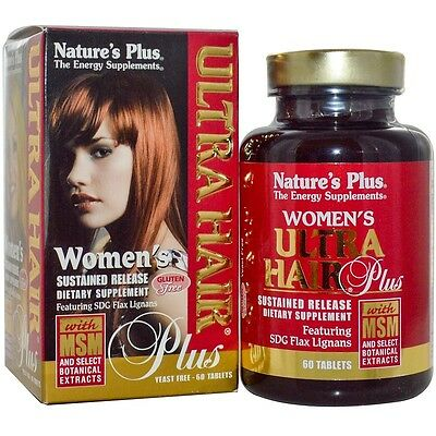 Nature's Plus Ultra Hair Plus Sustained Release Tabs 60