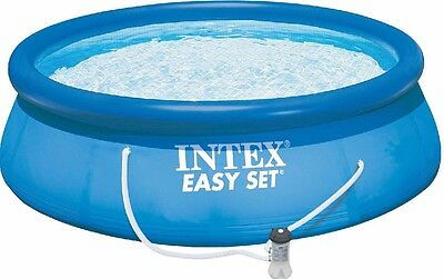 Intex 12355 Easy-Pool-Set Swimming-Pool inkl Kartuschenfilterpumpe 457x91cm