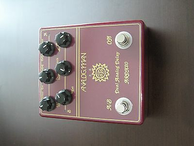 NEW AnalogMan Dual Analog Delay Effect Pedal