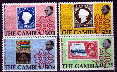 Gambia 390-93 **, 100.Todestag Sir Rowland Hill-stamp on stamp