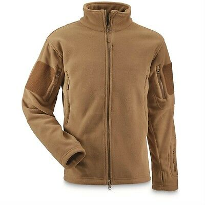 Polartec 300 Coyote Spartian Jacket - Brand New - Size Large