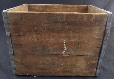 """Canada Dry Ginger Ale Vintage Wooden Soda Crate 16""""x11""""x12"""""""