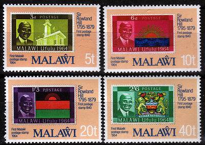 Malawi 332-35 **, 100.Todestag Sir Rowland Hill-stamp on stamp