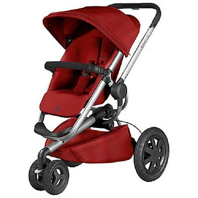 Quinny Buzz Xtra 2.0 - Stroller for baby, infant and toddler - RED RUMOR
