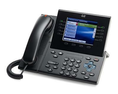 Cisco 8961 Multimedia Communications IP Phone in Black