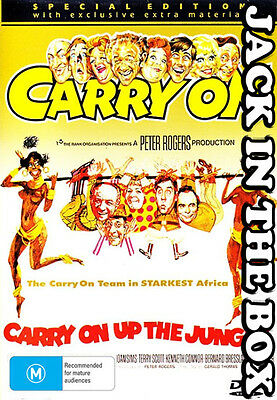 Carry On Up The Jungle DVD NEW, FREE POSTAGE WITHIN AUSTRALIA REGION ALL