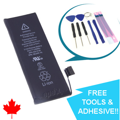 NEW iPhone 5C Replacement Battery 616-0669 1510mAh with FREE TOOLS & ADHESIVE