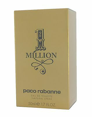 One Million by Paco Rabanne EDT Eau De Toilette for Men NEU&OVP 50ml