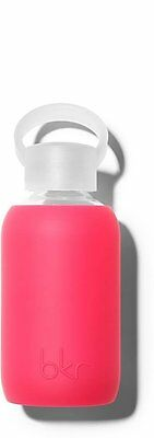 Glass Water Bottle with Soft Silicone Sleeve, BKR, 250 ml Bisous
