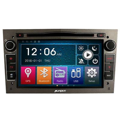 Autoradio DVD Player Für Opel Vauxhall Corsa GPS Navigation Bluetooth USB SD RDS