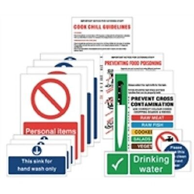 Food Hygiene Signs Prep Pack