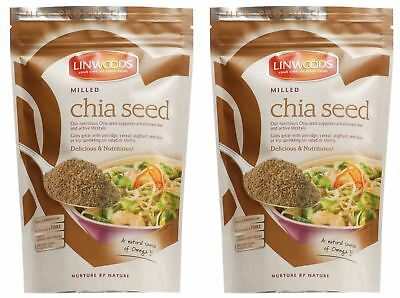 Linwoods Milled Chia Seed - 200g (Pack of 2)
