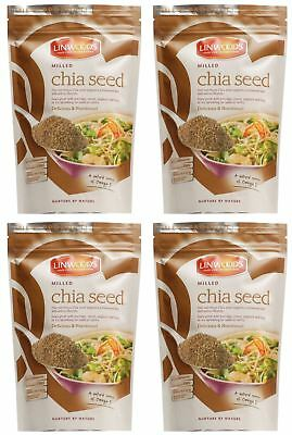 Linwoods Milled Chia Seed - 200g (Pack of 4)