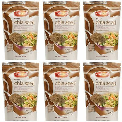 Linwoods Milled Chia Seed - 200g (Pack of 6)