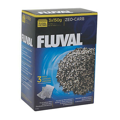 Fluval ZEO-CARB, 3 x 150 g