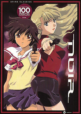 Noir:Complete Series. Classic Girls With Guns Anime. 5 Disc Box. New In Shrink!