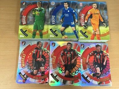 Topps Premier Club 2016 Complete Set 200 Cards Includes Foils