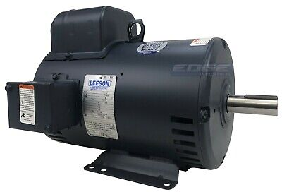 Leeson Electric Motor 132044 for air compressor 7.5hp 1ph 184T C184K34DB8A