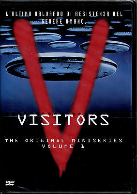 V VISITORS miniseries vol.1 - BOX 2 DVD NUOVO E SIGILLATO, PRIMA STAMPA ITA