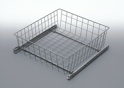 PULL OUT WIRE BASKET DRAWER WARDROBE MD FITTING ACCESSORIES (300mm)