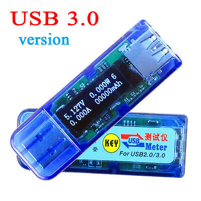 OLED USB 3.0 Charger Capacity power Current Voltage Detector Tester Meter Mobile
