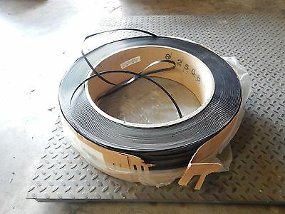 "5 NEW 7/16"" x 7000' Black Machine Grade Polypropylene Strapping Plastic Banding"