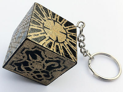 HELLRAISER PUZZLE BOX Lemarchands Hand Made Horror Film Movie Keyring 1:3 Scale