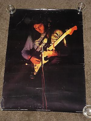 Dave Gilmour/PinkFloyd 1972 UK Star Poster