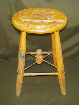 WWII Wooden Stool (Stool #1)