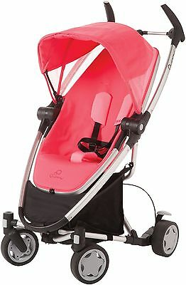 Quinny Zapp Xtra stroller with folding seat - Precious pink