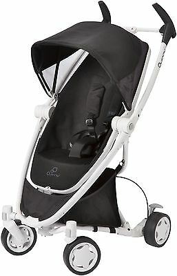 Quinny Zapp Xtra stroller with folding seat - Black irony