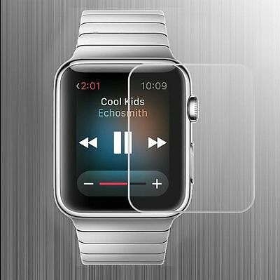 New Premium Real Tempered Glass Screen Protector for Apple iWatch 38mm Lot