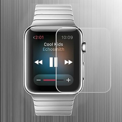 New Premium Real Tempered Glass Screen Protector for Apple iWatch 42mm Lot