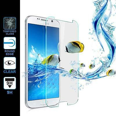 Lot New 9H Premium Real Tempered Glass Screen Protector for Samsung Galaxy S7
