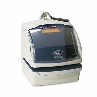 Lathem Time 5000E Plus Electronic Time Recorder/Document Stamp/Numbering Machine