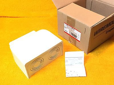 ***new*** Wiremold 5410Dfo Fiberready Ivory Fiber Ready Divided Entrance End