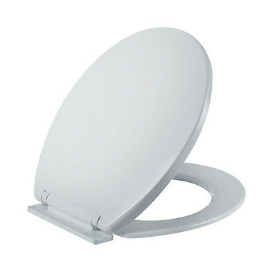 Soft Close Toilet Seat Whtie WC Toilet Seat Guarantee Replacement Bathroom