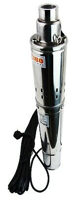 """#IBO3""""SQIBO-0.75 Borehole Deep Well Submersible Water PUMP House/Garden+cable14m"""