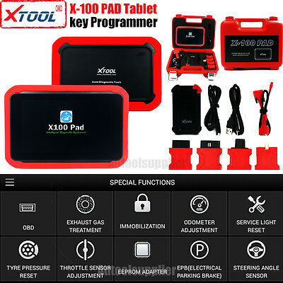 XTOOL X-100 PAD Tablet Auto Programmer with EEPROM Adapter PIN ECU