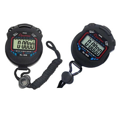 Hot Professional Chronograph Timer Counter Fashion Stopwatch Sports 2016