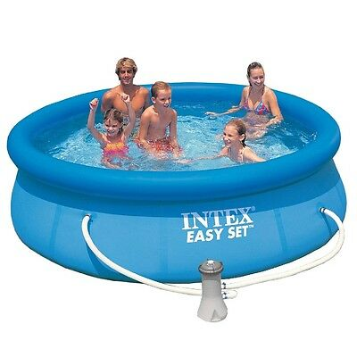 Intex 56922 Easy-Pool-Set Swimming-Pool Quick-Up Pool inkl Filterpumpe 305x76cm