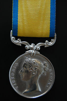 Solid Silver Baltic Medal 1856