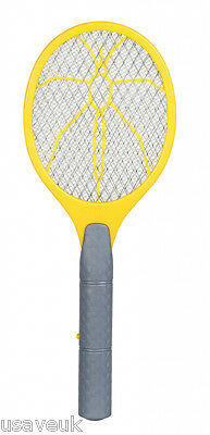 Electronic Racquet Swat Swater Zapper Bug Bat Fly Wasp Insect Killer shbz5