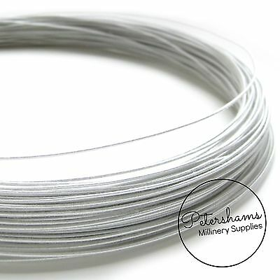 BR121 cotton covered 1.2mm copper coated steel millinery wire