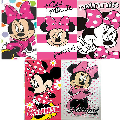 Disney Minnie Mouse Beach Bath Swimming Towel 100% Cotton Choose From 5 Designs