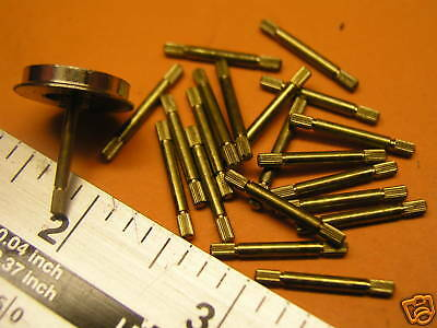 00  Hornby.spares.s2451 Ringfield Brass Axles.   4  0Ff.