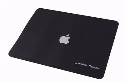 Soft Luxury PU Leather Mouse Pad designed for MacBook /iMac - Black